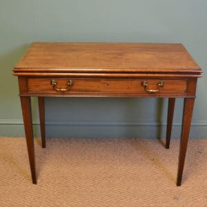 Country House Georgian Mahogany Antique Side / Tea Table