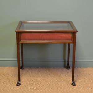 Fine Quality Edwardian Walnut Antique Bijouterie Table