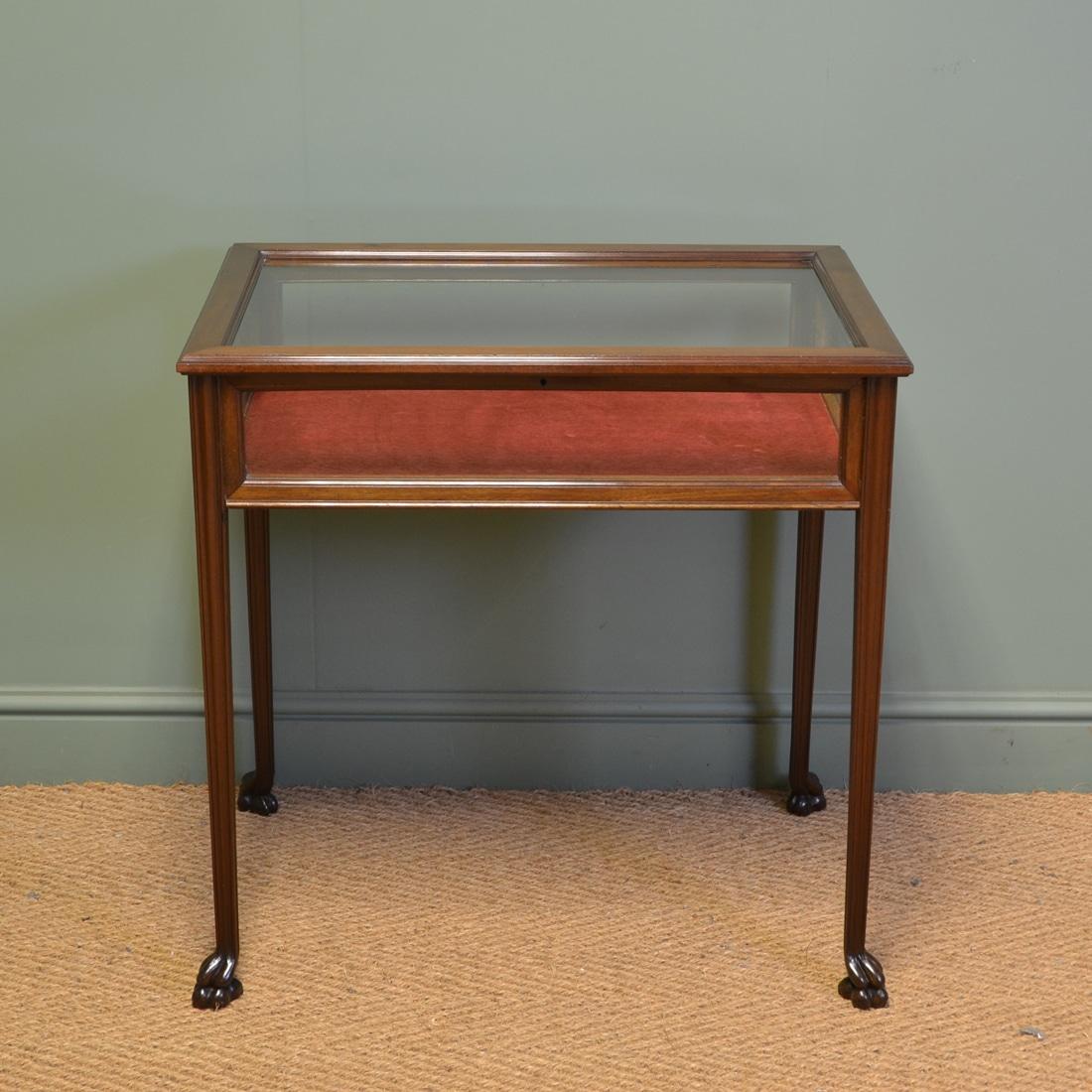 grande qualité plus tard Vente chaude 2019 Fine Quality Edwardian Walnut Antique Bijouterie Table ...