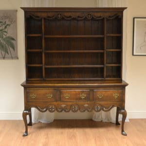 Quality Edwardian Oak Antique Dresser