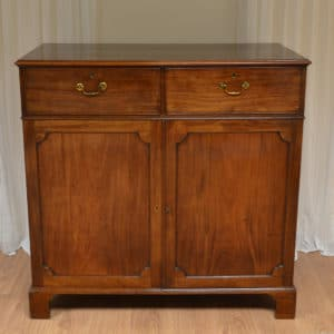 Quality Mahogany Antique George III Press Cupboard