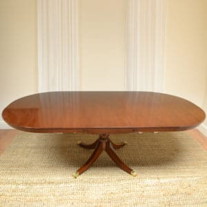 Regency Design Large Mahogany Dining Table