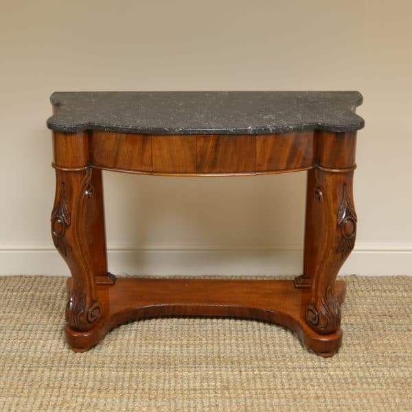 Fine Quality Marble Top Victorian Antique Console Table