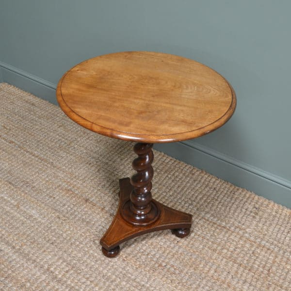 Victorian Mellow Mahogany Antique Occasional Table
