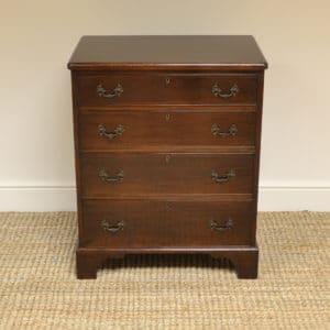 Small Georgian Design Edwardian Antique Chest Of Drawers