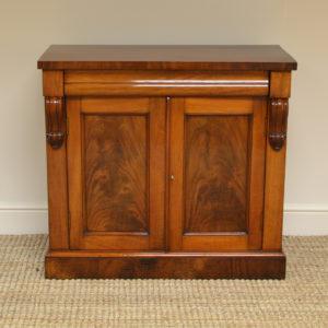 Small Victorian Mahogany Antique Chiffonier / Cupboard