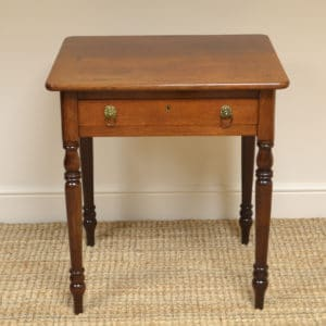 Regency Mahogany Antique Side Table