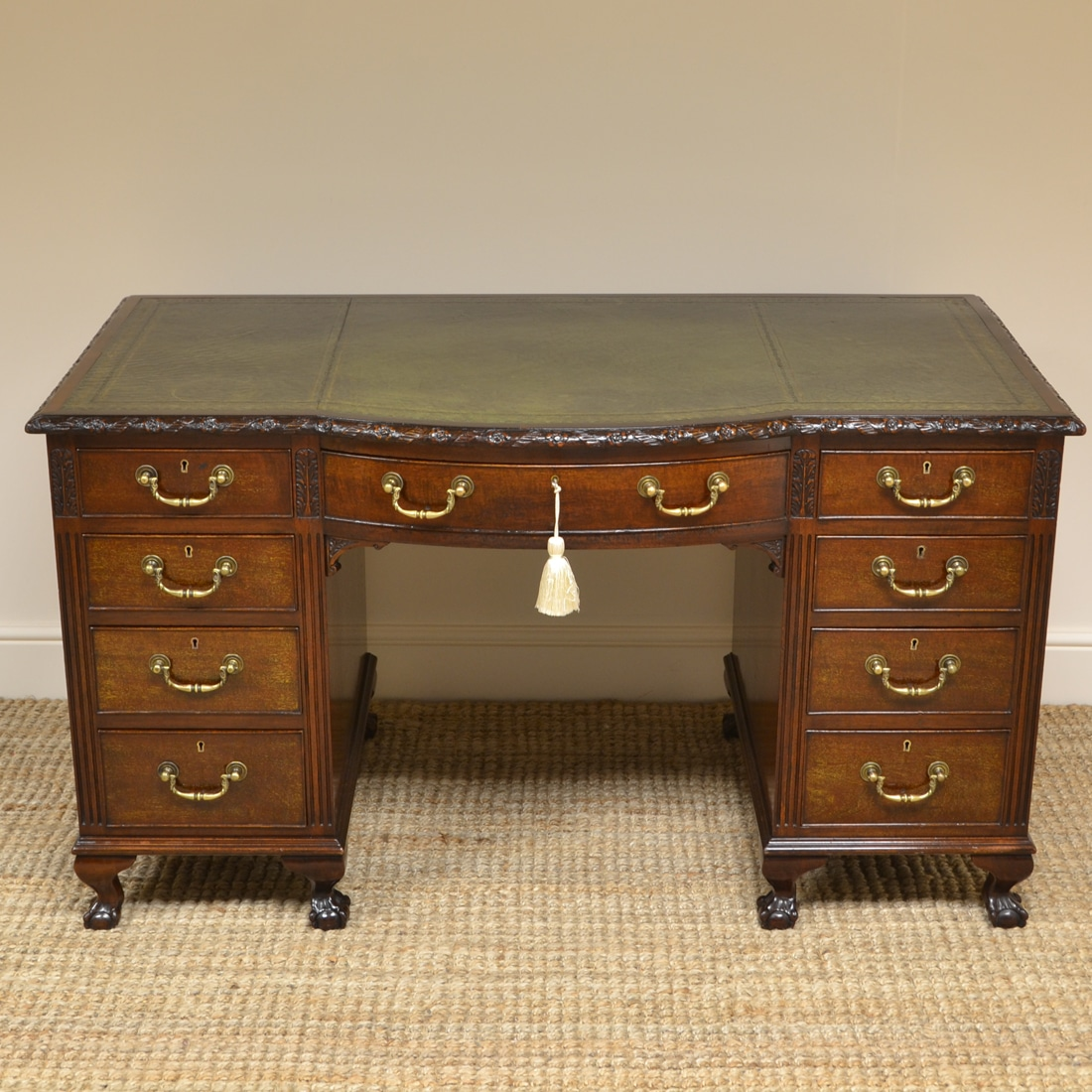Fabulous Quality Edwardian Mahogany Antique Desk Home Interior And Landscaping Oversignezvosmurscom