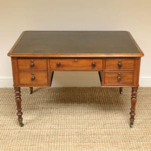Early Victorian Mahogany Antique Partners desk