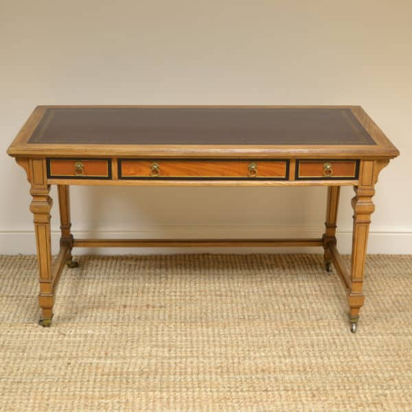 Superb Arts & Crafts Ash Gillows Antique Writing Table