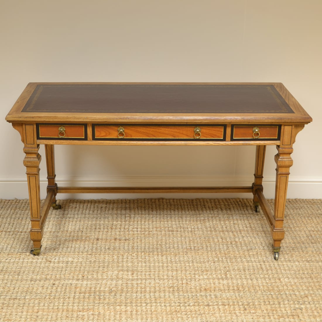 Arts & Crafts Ash Gillows Antique Writing Table