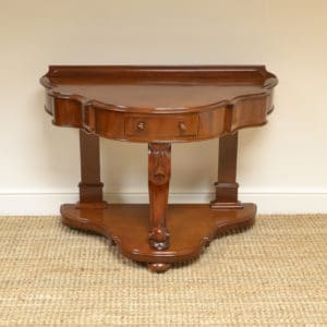 Beautiful Victorian Mahogany Antique Console Table