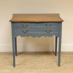 George III Painted Antique Low Boy / Side Table