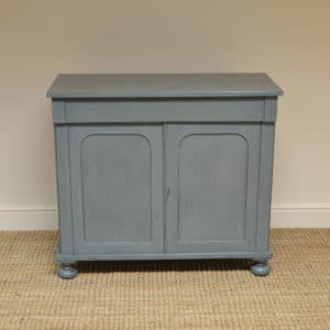 Country House Victorian Painted Antique Cupboard