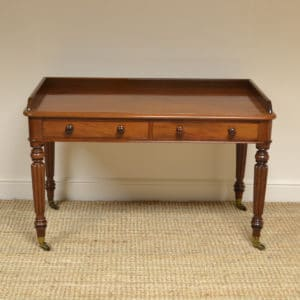 High Quality Gillows Design Victorian Mahogany Writing Table