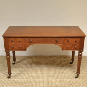 High Quality Victorian Mahogany Antique Writing Desk