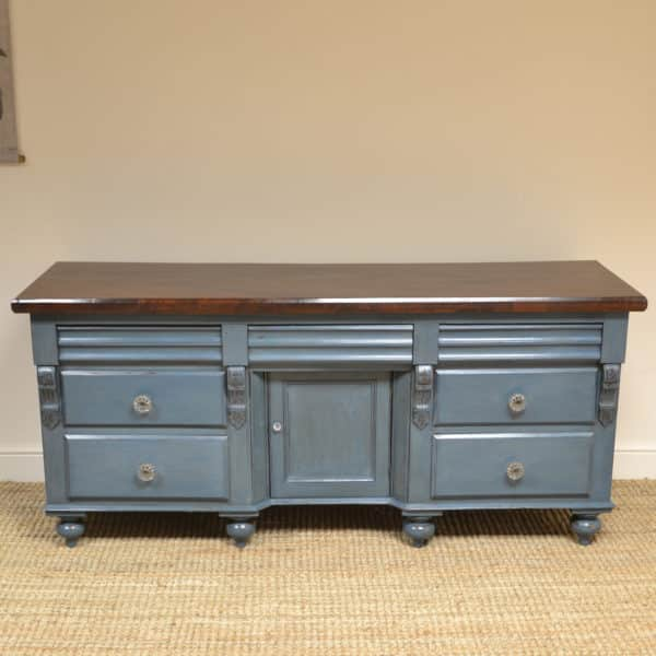 Country Painted Victorian Antique Dresser Base