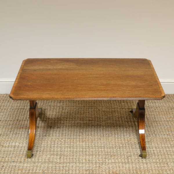 Low Figured Rosewood Coffee Table