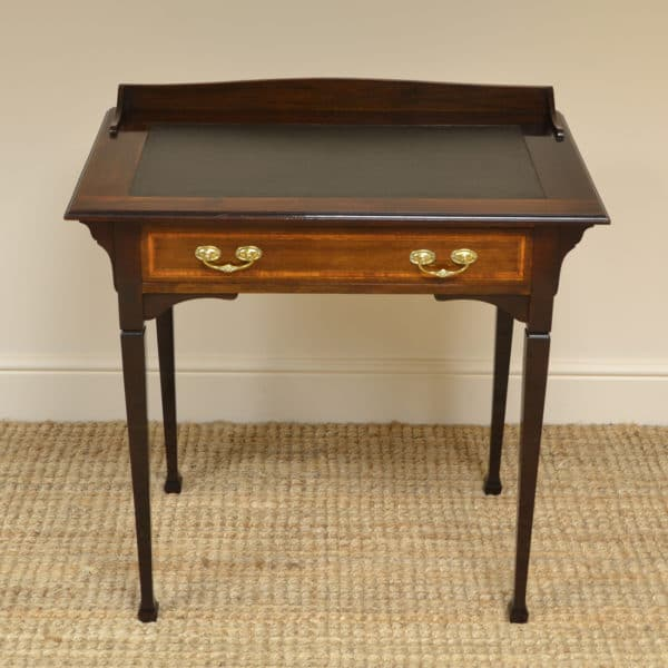 Quality Victorian Walnut Antique Writing Table