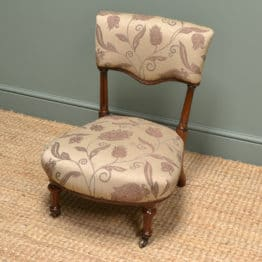 Small Holland & Sons Antique Nursing Chair
