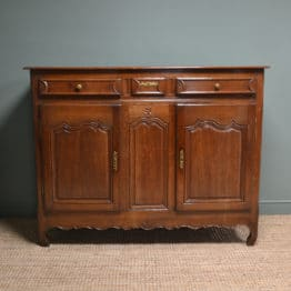 Large 18th Century Country French Oak Antique Dresser / Sideboard
