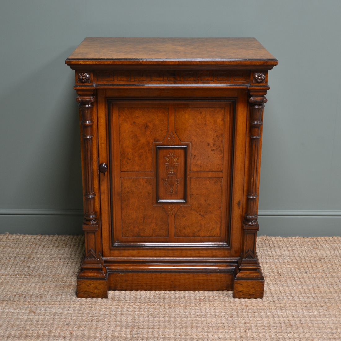Magnificent Gillows Pollard Oak Arts & Crafts Victorian Antique Cupboard