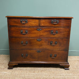 Superb Georgian Mahogany Antique Chest of Drawers