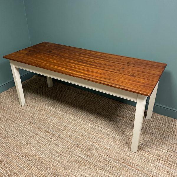 Antique Painted Kitchen Table