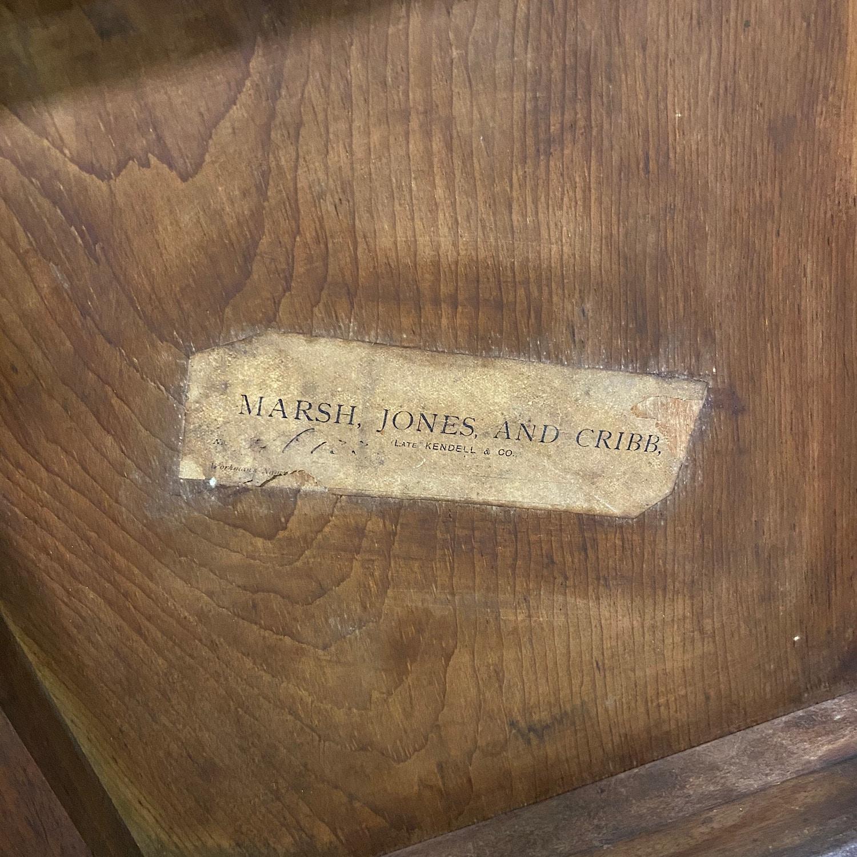 Stunning Marsh Jones & Cribb Antique Stool / Ottoman