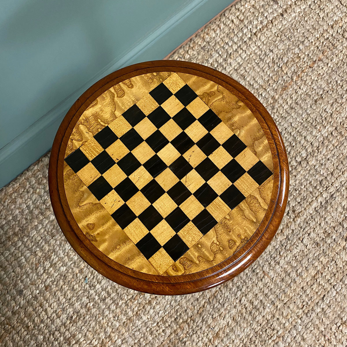 Antique Chess Tables