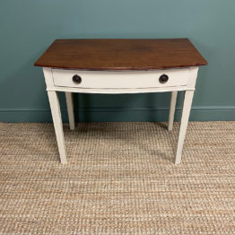 Country Painted Victorian Antique Side Table