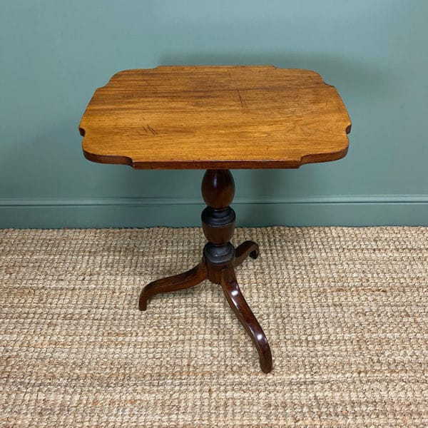 Victorian Mahogany Antique Occasional Side Table.