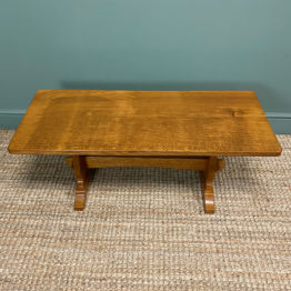 Superb Beaverman (Ex-Mouseman) Coffee Table