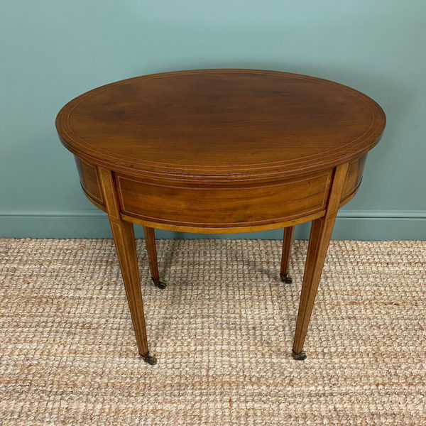 Stunning Victorian Shoolbred Mahogany Antique Centre Table
