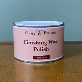 Priory Polishes Finishing Wax Polish – Light Tones