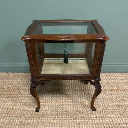 High Quality Victorian Antique Vitrine Display Cabinet