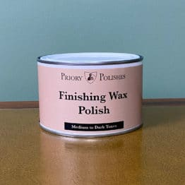 Priory Polishes Finishing Wax Polish – Medium to Dark Tones