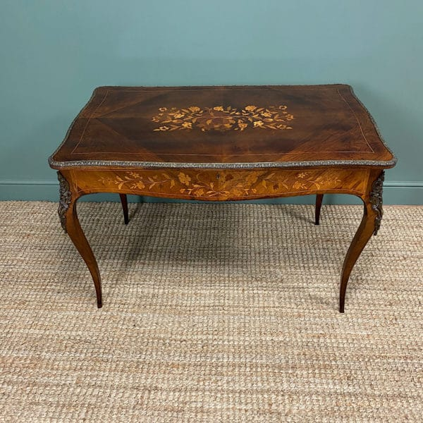 Stunning 19th Century Kingwood Antique Writing Table