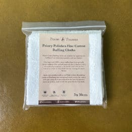 Priory Polishes Fine Cotton Furniture Wax Buffing Cloths