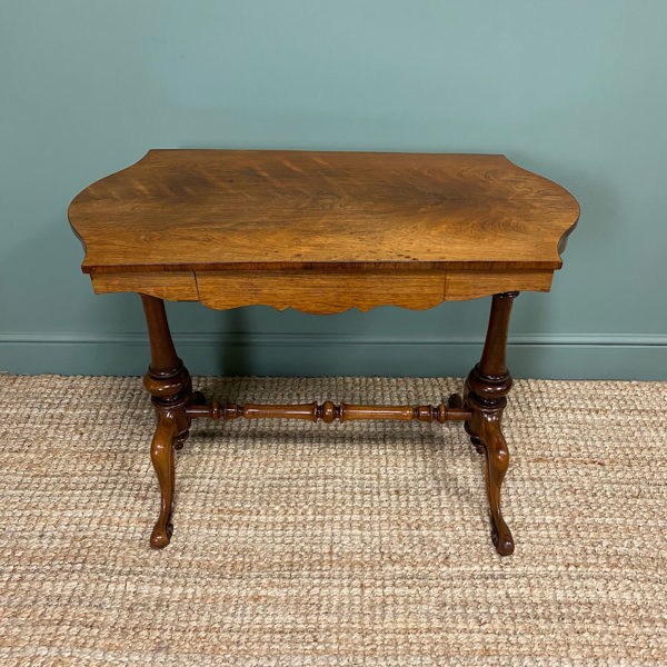 Victorian Rosewood Antique Writing Table