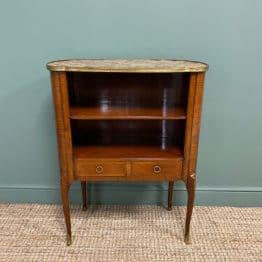 Stunning Kingwood Antique Side Cabinet