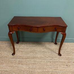 Fine Quality Georgian Mahogany Antique Writing Table