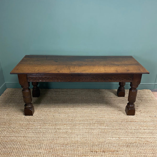 Period Oak Antique Refectory Table
