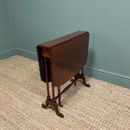 Fine Quality Edwardian Mahogany Antique Sutherland Table