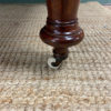 Quality Victorian Mahogany Antique Wind Out Extending Dining Table