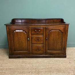 Period 18th Century Georgian Oak Antique Dresser