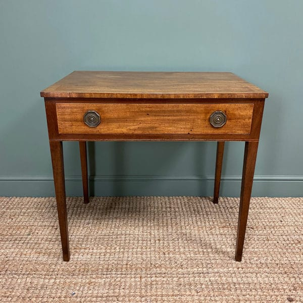 Country House Regency Mahogany Antique Side Table