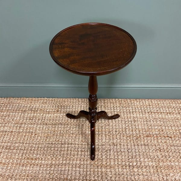 Elegant Edwardian Mahogany Antique Occasional Table
