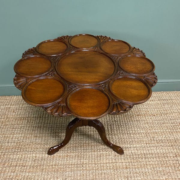 Quality Victorian Mahogany Antique Supper Table