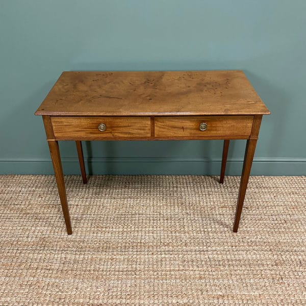Fine Quality Regency Mahogany Antique Writing Table
